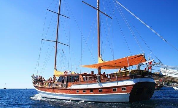 Bodrum isole greche caicco richmond vi noleggio cabina for Noleggio della cabina del parco cittadino