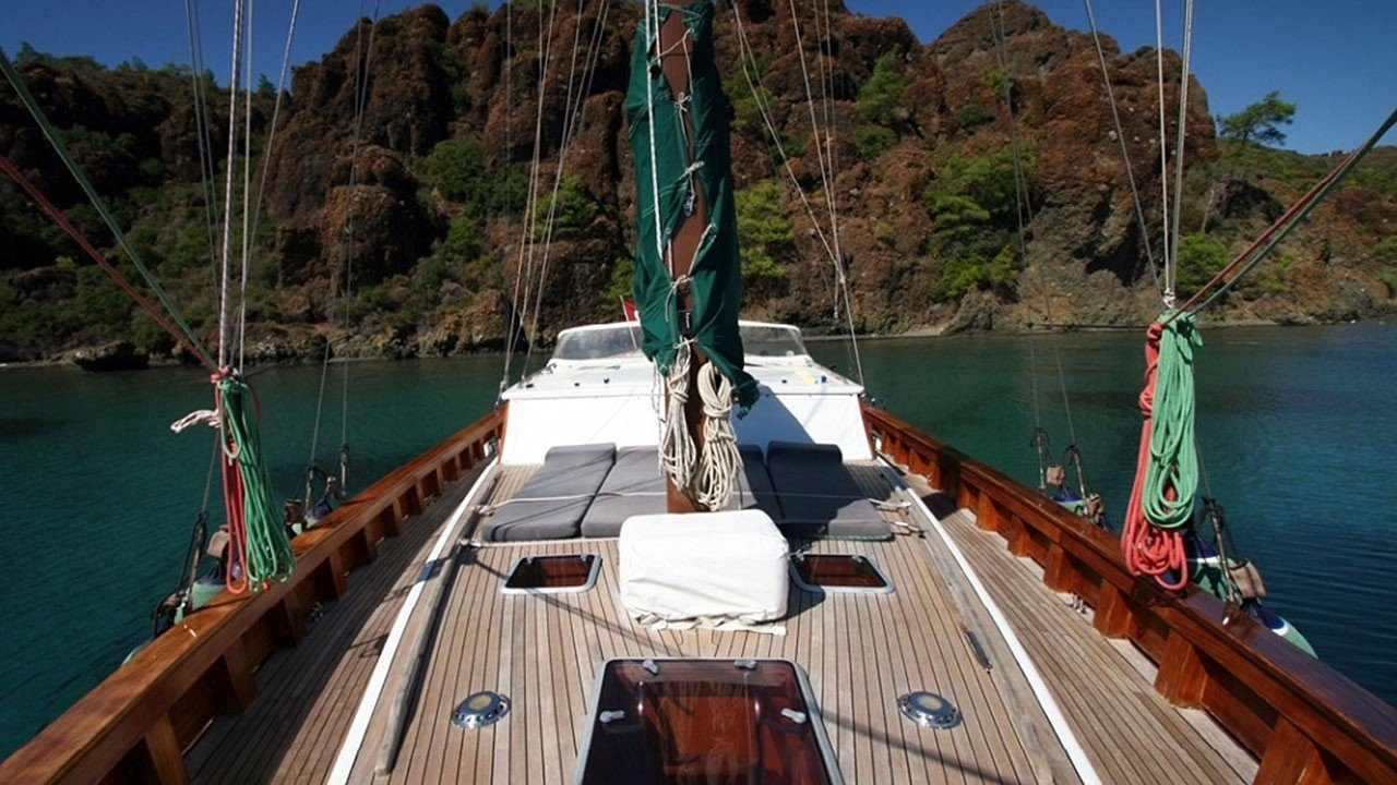 Barca a vela Vongole