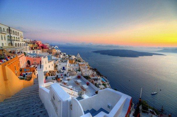 Isola Di Santorini In Grecia Isole Delle Cicladi In Grecia