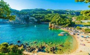 Paleokastrita Bay Corfu