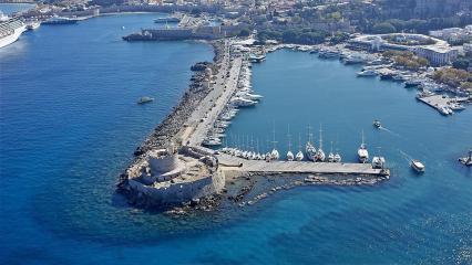 Isole greche dall'isola di Rodi