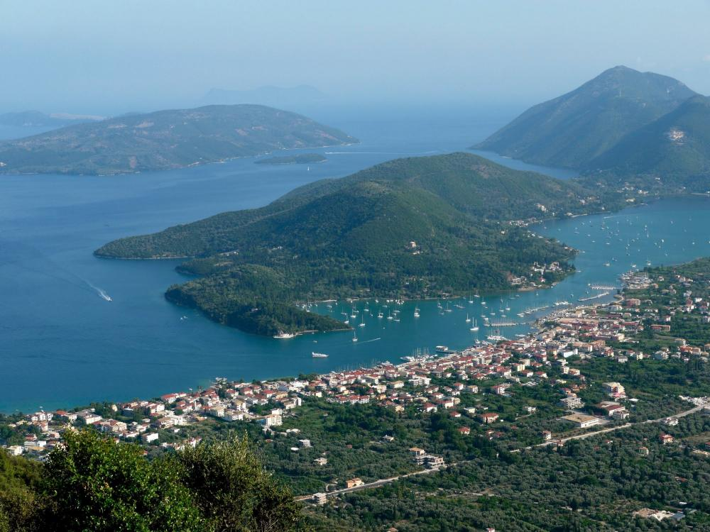 Lefkada From Air