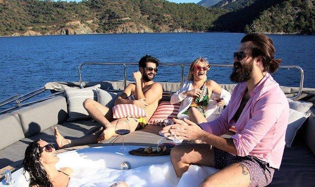 La vita sullo yacht