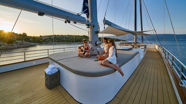 Barca a vela Dalmatino