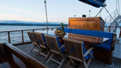 Barca a vela Luopan
