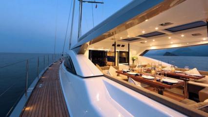 Barca a vela Patea