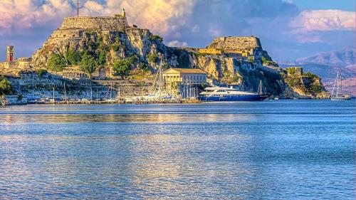 Yachts In Corfu Islands