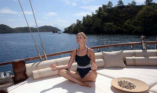 Yoga e crociera benessere